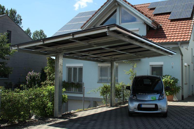 referenzobjekt solarcarport. Black Bedroom Furniture Sets. Home Design Ideas